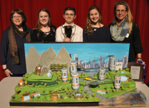 Future City regional winner Queen of Angels Regional Catholic School